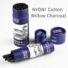 4-5mm Cotton Willow Charcoal 7-9mm Drawing Pencil For School Black Cayon Chinese Painting Wood Carbon Sketch Pencil Art Supplies