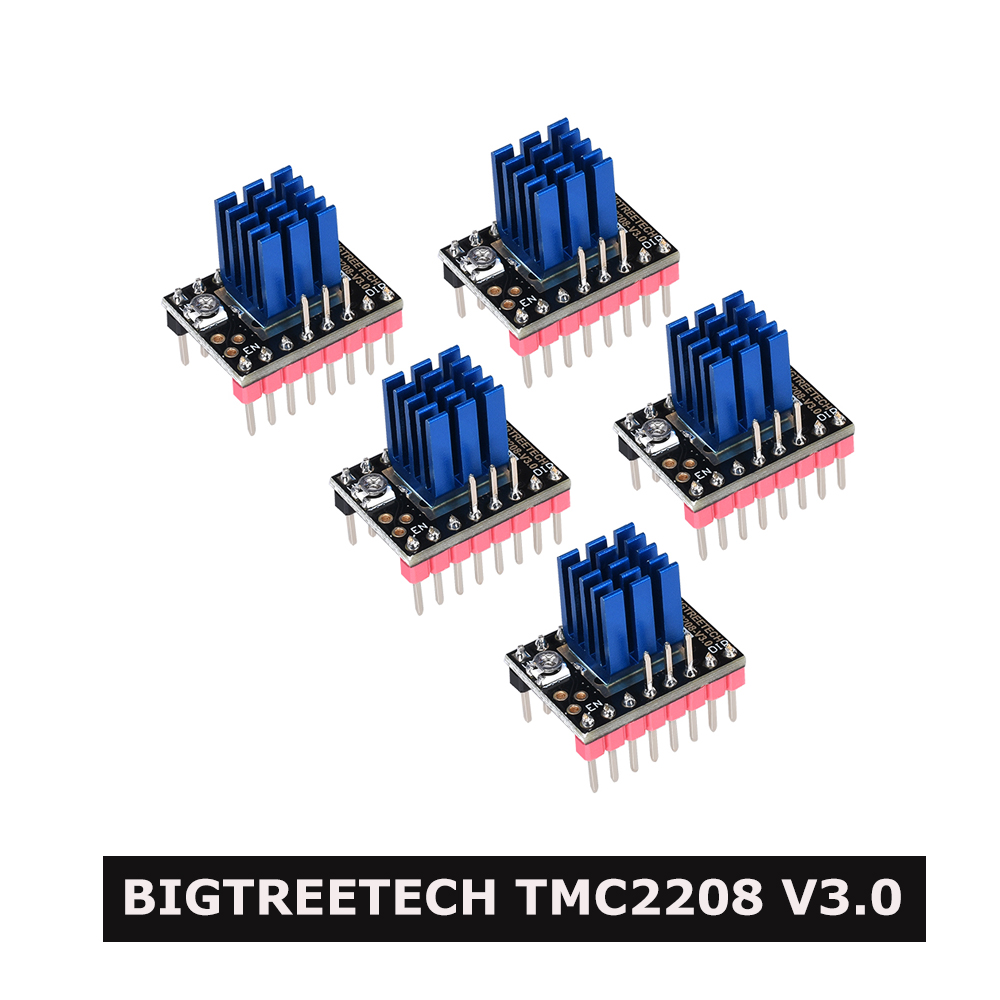 BIGTREETECH TMC2208 V3 0 Stepper Motor Driver STEP UART Stepsticks Mute VS TMC2130 SPI TMC2209 For SKR V1 3 SKR V1 4 Turbo Ender