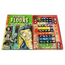 Fearsome Floors الأرضيات المخيفة لعبة المجلس مخيف سهلة للعب 2 7 لاعبين لعبة الطرف Finstere Flure