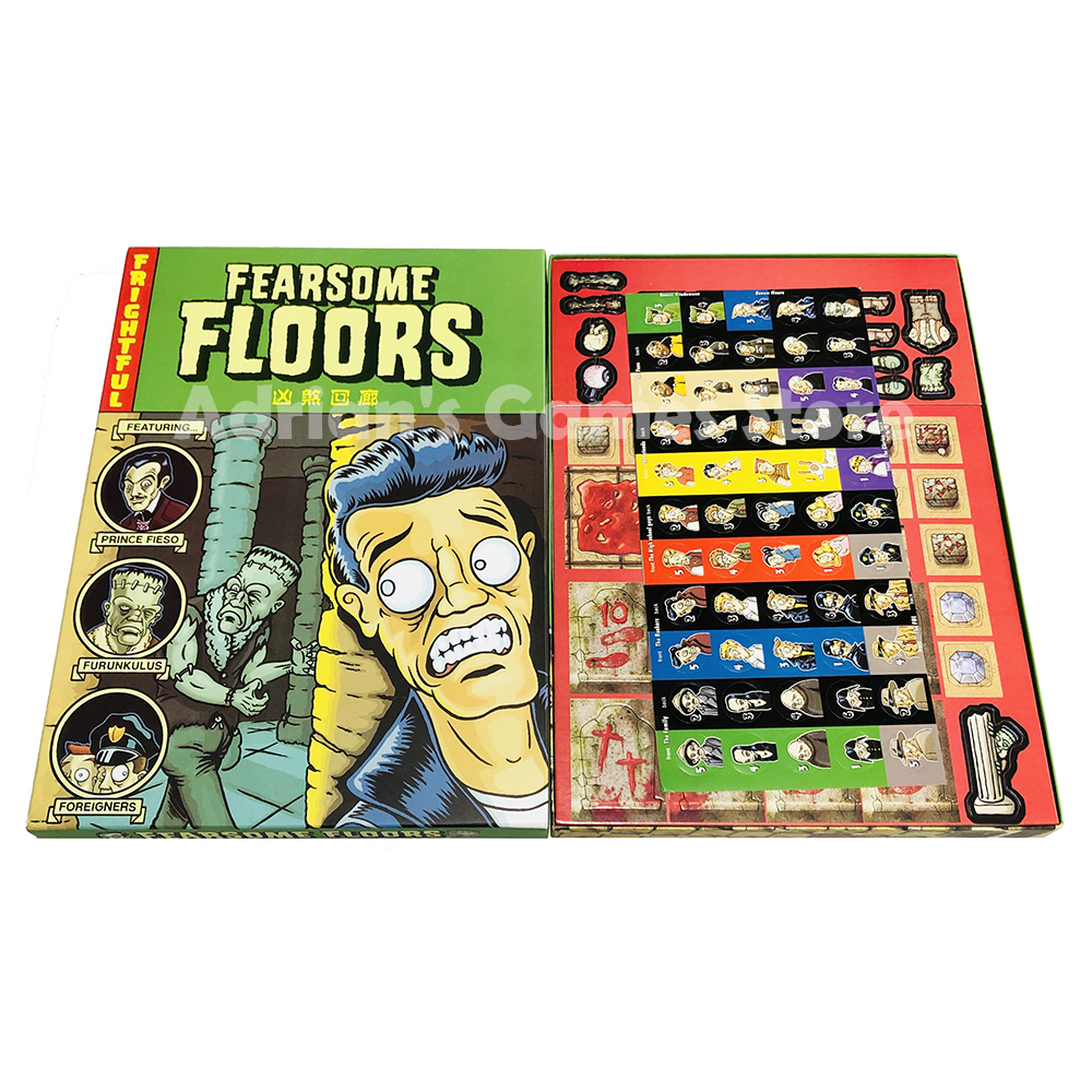 Fearsome Floors Frightful Board Game Finstere Flure Easy To Play 2-7 Players Party Game