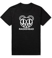 Rock and Roll t shirt Men Custom Design Radiohead shirts arctic monkeys Cotton music t-shirt 2019 New