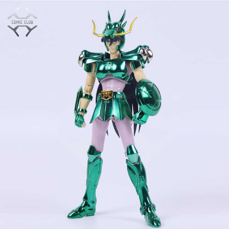 Comic Club Instock Greattoys Grandi Giocattoli Ex Bronze Saint Dragon Shiryu V1 Metal Armor Myth Cloth Action Figure