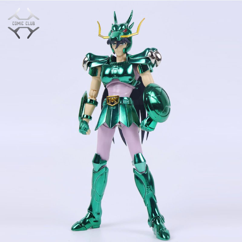 COMIC CLUB INSTOCK GreatToys Great Toys EX Bronze Saint Dragon Shiryu V1 Metal Armor Myth Cloth Action Figure