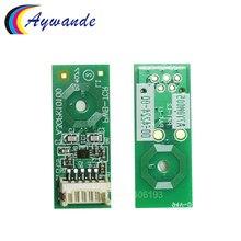 4 X DV-512 DV512 DV 512 Compatible pour Konica Minolta C224 C364 C284 C454 C554 C654 C754 Développement Réinitialiser Développeur puce