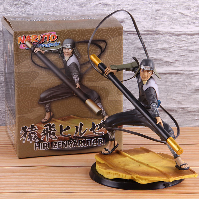 Sarutobi Hiruzen Tobirama Senju Namikaze Minato Hashirama Senju PVC Collectible Action Figure Anime Naruto Shippuden Model ToyAction & Toy Figures