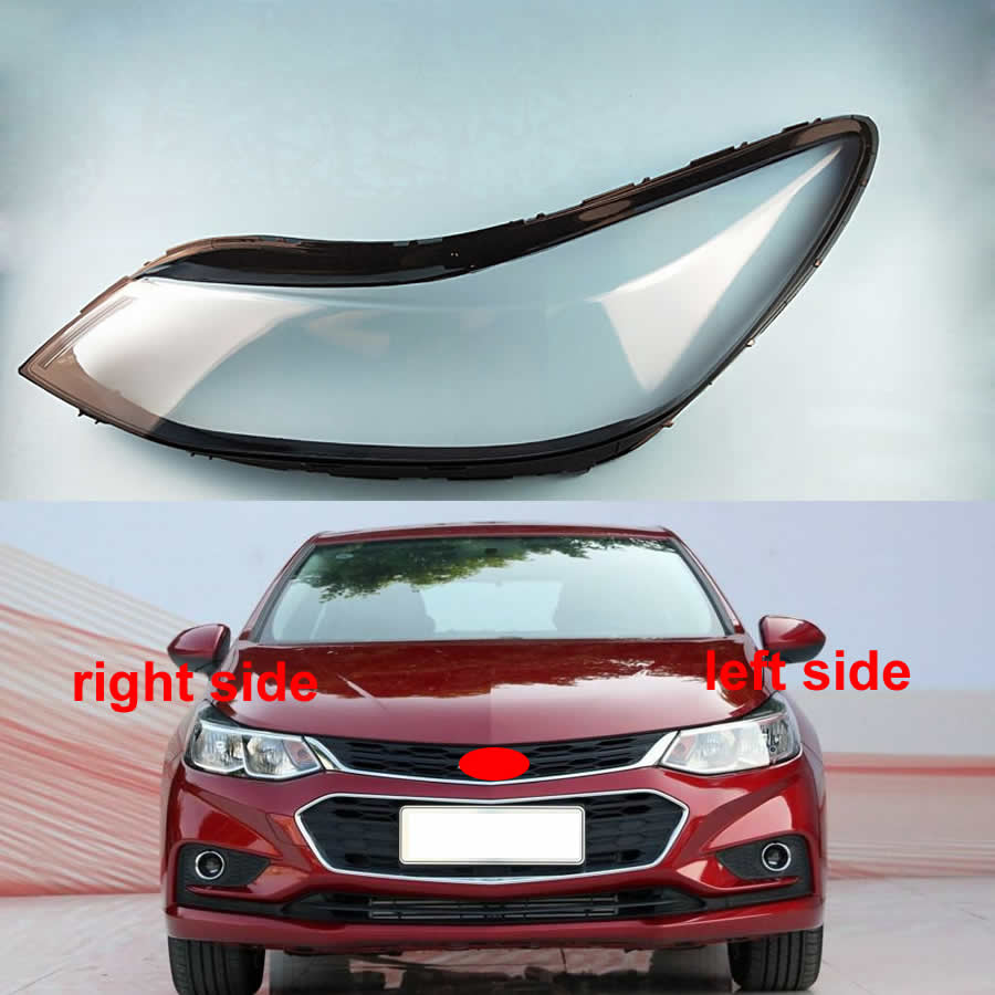 Transparent Lampshade Cover Lamp Shade Front Headlight Cover Lens Shell Glass Headlights Lens For Chevrolet Cruze 2017 2018 2019