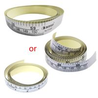 Régua do vinil da fita métrica autoadesiva da medida de 151cm para a etiqueta da máquina de costura|Fita métrica|Ferramenta -