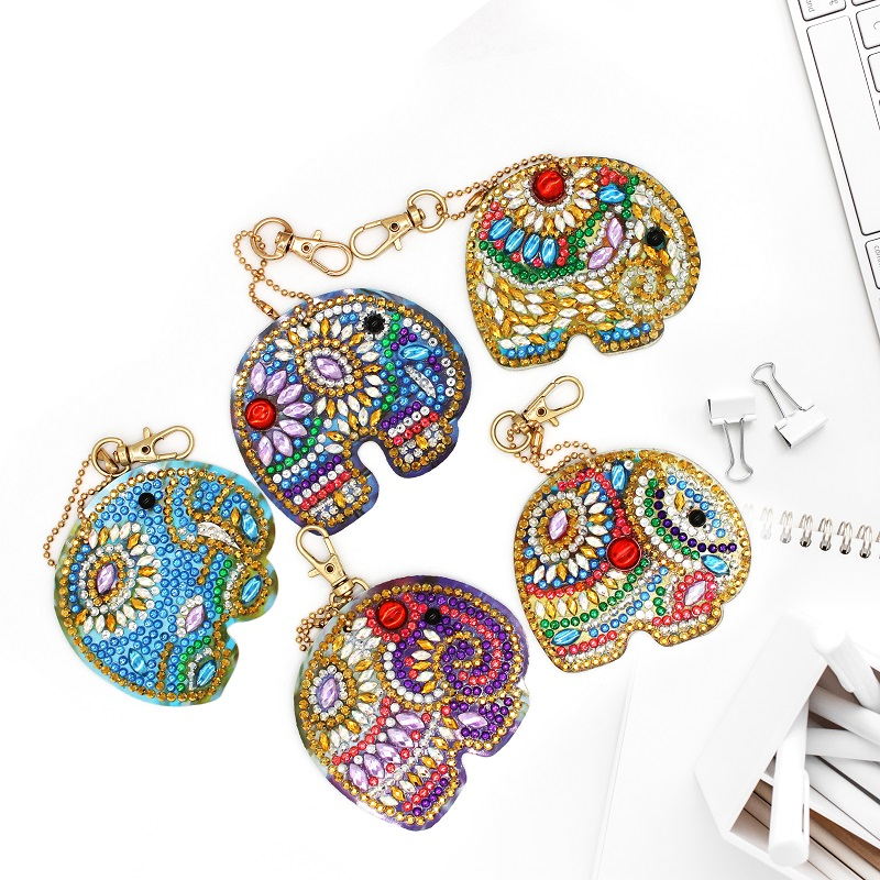Hfae7f7a1ffc44fa290e578a3e6f57300Y - Price Cutting For Sale Diamond Painting Kits DIY Keychain Keybuckle Bag Pendant Ornament Diamond Embroidery Jewelry Gift