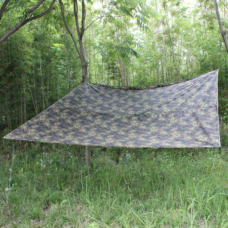 3mx3m Outdoor Beach Sun Shelter Camouflage Multi-functional Boxer Canopy College Style Tent Beach Canopy Sunshade