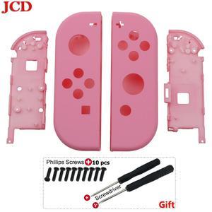 Image 2 - JCD sostituzione in plastica fai da te per Kit di riparazione Joy Con custodia custodia custodia per nintendo per Controller interruttore viti per cacciavite