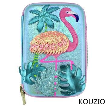 Pencil case Flamingo box cute estuche escolar kawaii kalemlik cartucheras para lapices escolares kalem kutusu pennenzak piornik
