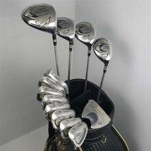 Novo 525 clubes de golfe honma bezeal 525 conjunto completo honma golf driver + fairway madeira ferros putter/13 pçs grafite eixo golfe (sem saco)
