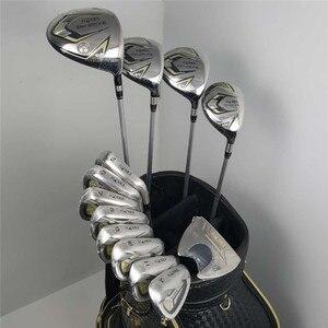 Image 1 - Novo 525 clubes de golfe honma bezeal 525 conjunto completo honma golf driver + fairway madeira ferros putter/13 pçs grafite eixo golfe (sem saco)
