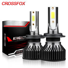 Crossfox лампы h1 h7 светодиодный h4 h11 9005 hb3 9006 hb4 h13