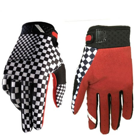Lente Zomer Volledige Vinger Motorfiets Handschoenen Gants Moto Luvas Motocross Leather Motorbike 100% Waterdicht Winddicht Raci