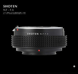 Image 4 - Shoten 렌즈 어댑터 링 nikon f d ai ais to fuji x X T3 X Pro2 X A2 카메라