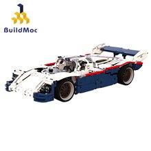 Bloques de construcción para niños, juguete de ladrillos para armar coche de carreras de velocidad, serie TECHNIC Car, ideal para regalo, código 956
