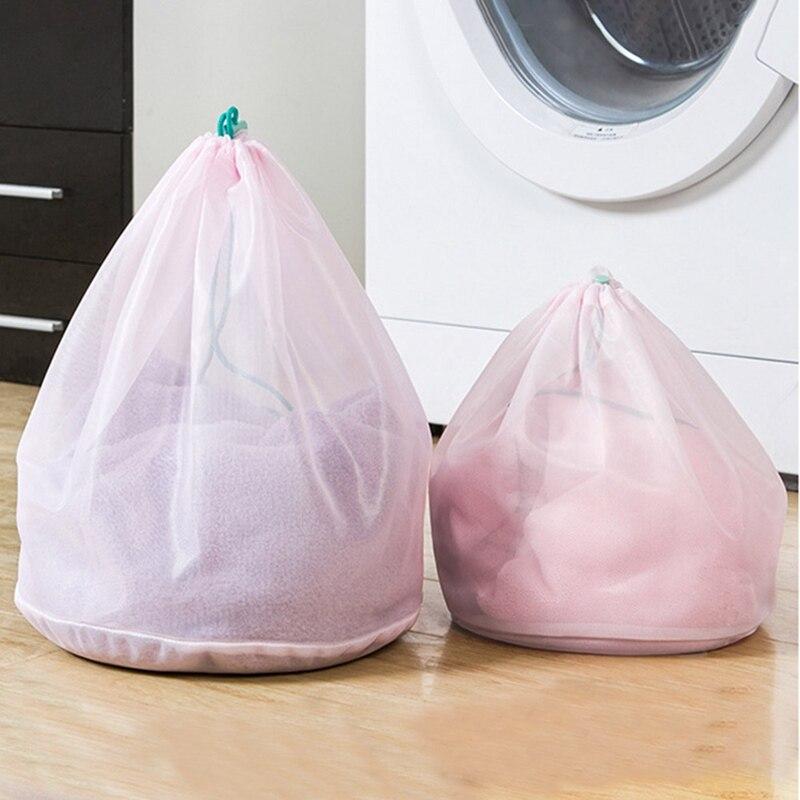 Washing Laundry Bag Clothing Care Foldable Protection Net Filter Underwear Bra Socks Underwear Washing Machine Clothes