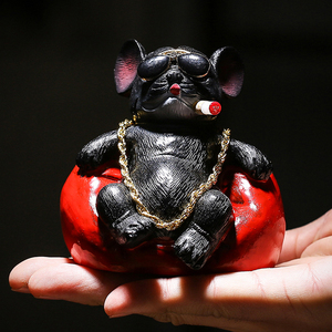 Image 5 - Fashion Car Decoration Dog Cat Mouse Trend Style Car Accessories Interior Toys Car Dashboard Ornaments Anime Car Decor Gift
