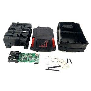 Image 4 - For Milwaukee 18V M18B Li ion Battery Plastic Case Charging Protection Circuit Board M18 48 11 1815 3Ah 4Ah 5Ah PCB Board Shell