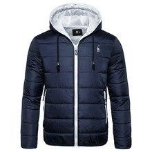 Новинка, водонепроницаемая зимняя куртка, Мужская парка с капюшоном, мужское теплое зимнее пальто, Мужская утолщенная камуфляжная куртка на молнии