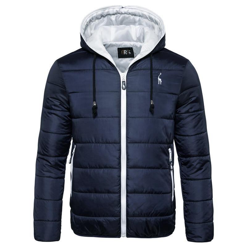 2019 New Waterproof Winter Jacket Men Hoodied Parka Men Warm Winter Coat Men Thicken Zipper Camouflage Mens Jackets