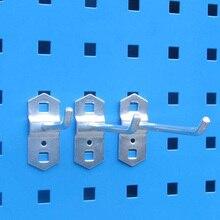 Стальная настенная коробка для хранения деталей крюк вверх гаражный блок стеллажи аппаратные инструменты для организации коробки подвесной крючок настенный