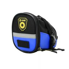 6 Color Nylon Waterproof Bicycle Bag Outdoor Riding Mountain Bike Saddle Bag Cushion Bag Folding Rear Seat Bag Riding Equipment bicycle scooter head bag folding handlebar folding bike bag saddle car seat bag riding shoulder waterproof phone bicycle front b