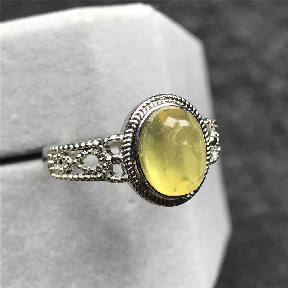 Real 925 Sterling anillo de plata señora anillo circonita piedra