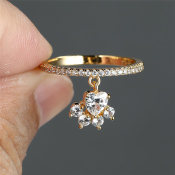 Dog Claw Pendant Ring 4