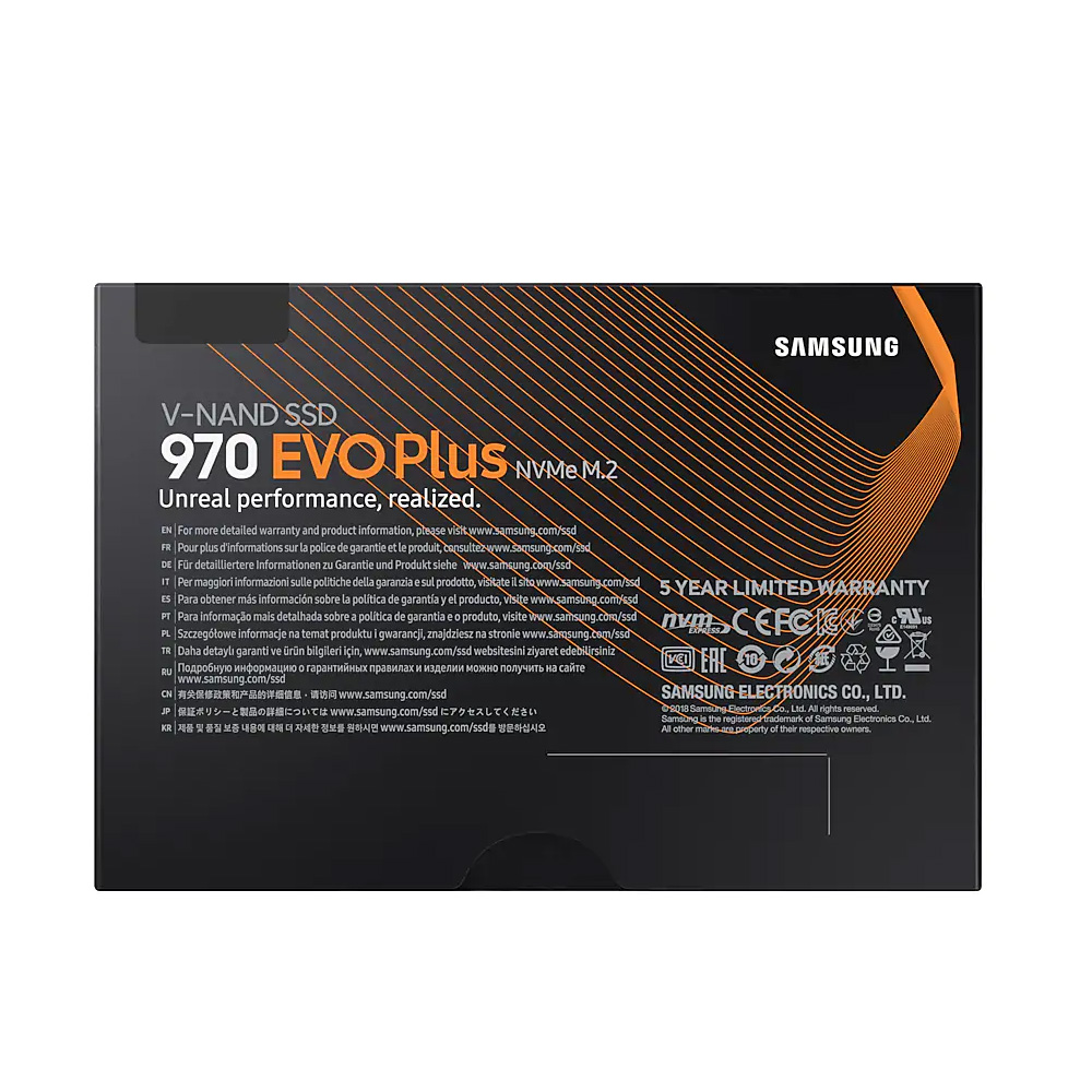 SAMSUNG NVMe SSD M.2 970 EVO Plus 500GB With Converter