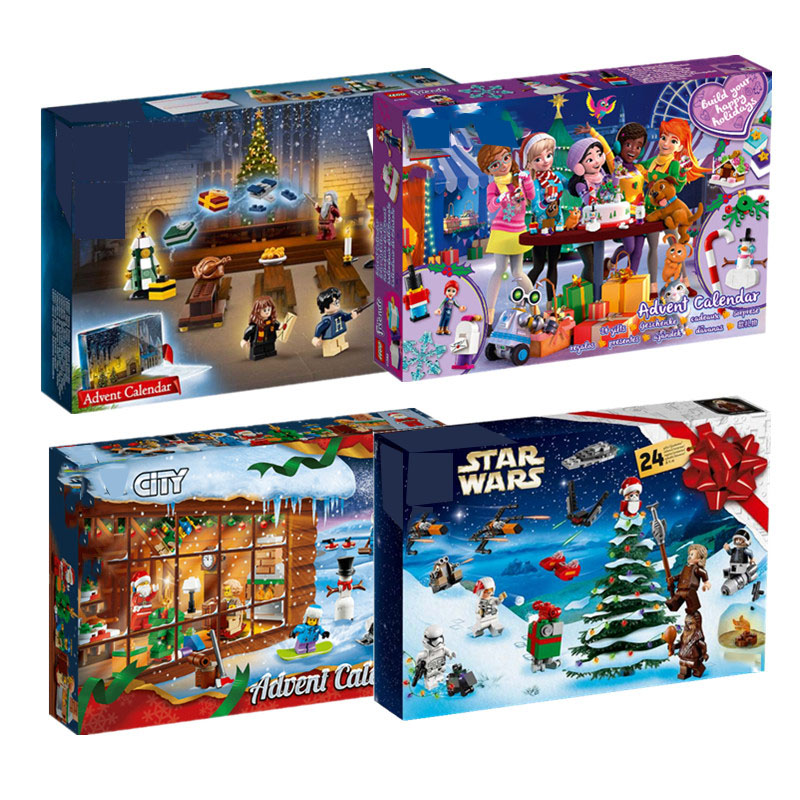 New Star Wars City Advent Calendar Girl Friends Set Building Block Bricks Toys Christmas Xmas Gift With 75245 75964
