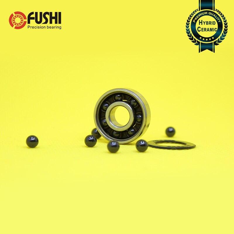 608RS Hybrid Ceramic Bearing 8x22x7 mm 2PCS Bicycle Bottom Brackets & Spares Rear wheel 608 RS 2RS Si3N4 Ball Bearings 608-2RS
