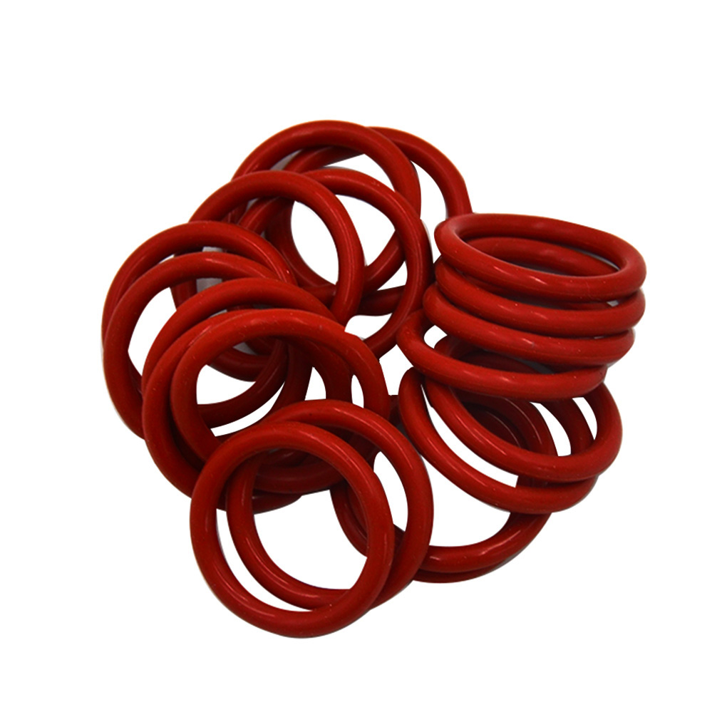 20PCS/Set Replacement For 12AX7 12AU7 12AT7 12BH7 EL84 Tube Damper Silicone Rings Durable Silicone O-Rings