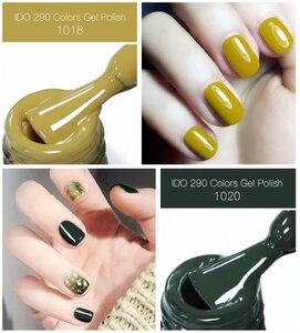 Image 2 - 100pcs uv gel nail Soak Off lDO  Gel Polish For free shipping Gorgeous 290 colors gel nails