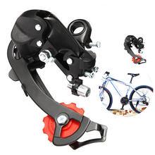6/7 velocidade tz50 desviador traseiro da bicicleta original da liga de alumínio mountain bike desviador traseiro peças da bicicleta