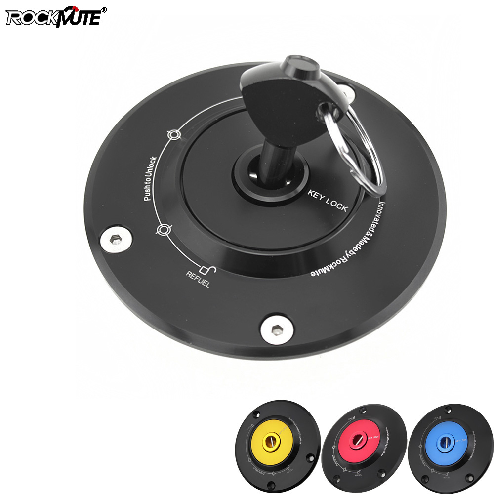 Fuel Tank Gas Cap For <font><b>Yamaha</b></font> <font><b>MT</b></font>-10 FJ-09 <font><b>MT</b></font>-09 <font><b>Tracer</b></font> <font><b>MT</b></font>-<font><b>07</b></font> FZ-<font><b>07</b></font> FZ-09 MT09 SR <font><b>MT</b></font>-01 Motorcycle Quick Releas Racing Key Lock image