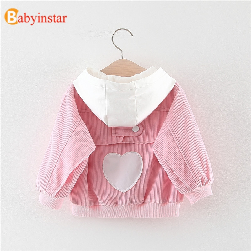 Babyinstar 2017 New Spring Girls Coat Foral Childrens Cardigan with Bow Cute Long Sleeve Kids Outerwear