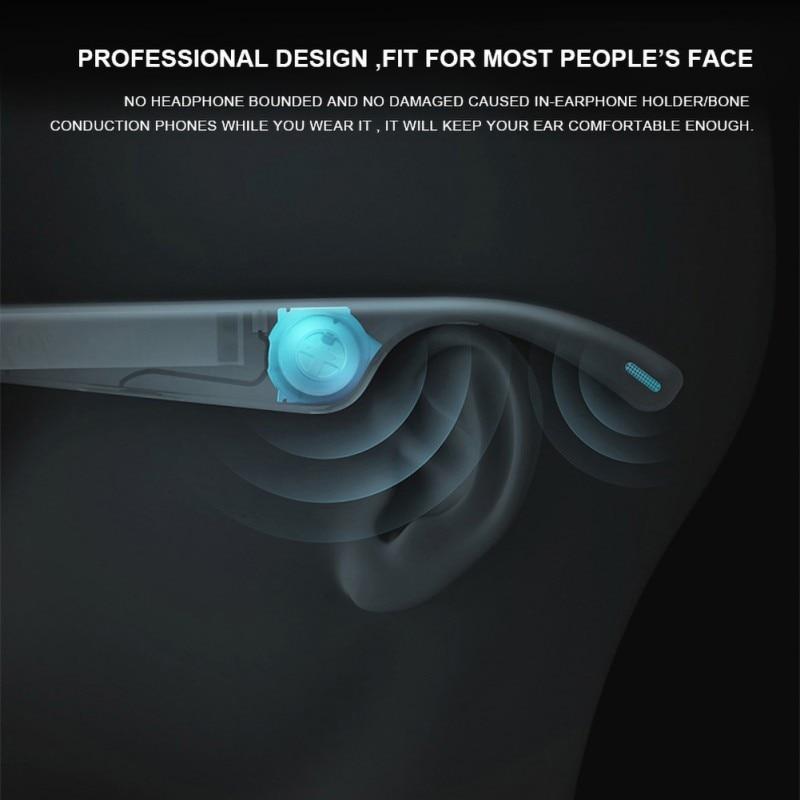 Óculos de Bluetooth Inteligente Chamada Hands Free