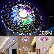 Ceiling Lamp Lamp Pendant Lamp Lights Lamp Decor Chandelier LED Peacock Light Crystal Home Living Room Modern Fixture Lighting