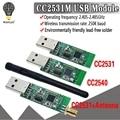 Беспроводная плата Zigbee CC2531 CC2540 Sniffer, модуль анализатора Packet Protocol, USB интерфейс Dongle Capture Packet Module
