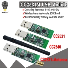 Wireless Zigbee CC2531 CC2540 Sniffer Bare Board Packet Protocol Analyzer Module USB Interface Dongle Capture Packet Module
