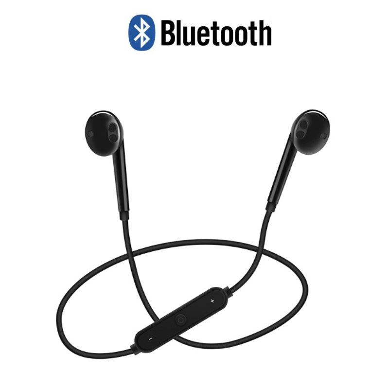 <font><b>Bluetooth</b></font> <font><b>Headphone</b></font> headset Sports wireless <font><b>S6</b></font> Stereo Neckband In-ear earphones with Microphone Outdoor Sport Running image