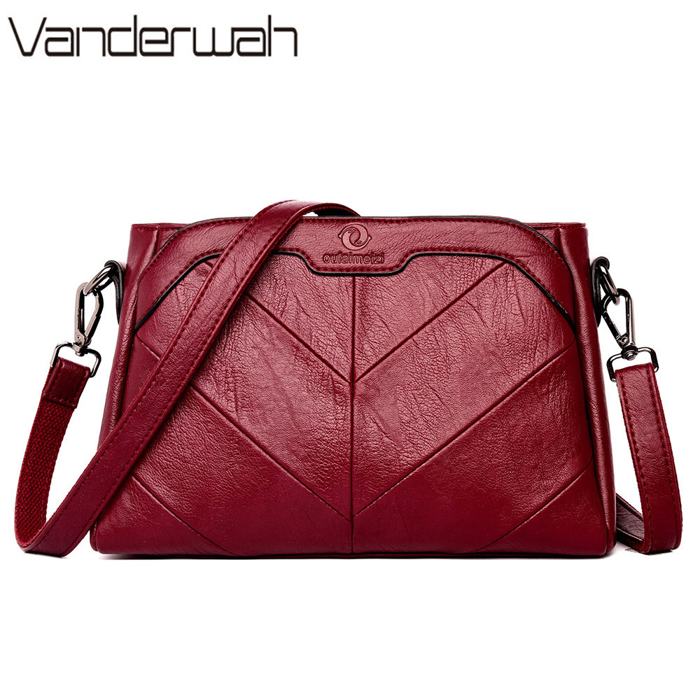 New Sac A Main Leather Luxury Handbags Women Bags Designer Shoulder Bags For Women 2019 Tote Bag High Quality Ladies Hand Bags