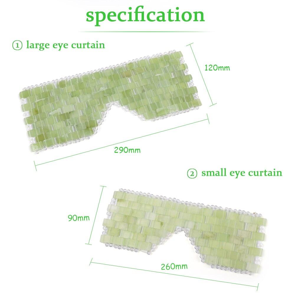 Máscara de Ojos de Jade de tamaño pequeño para USA VIP
