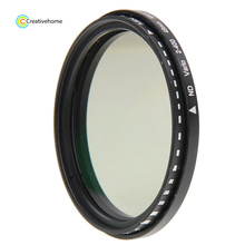 37mm /43mm/46mm/55mm/86mm/40.5mm/95mm/105mm ND Fader Neutral Density Adjustable Variable Filter, ND2 to ND400 Filter