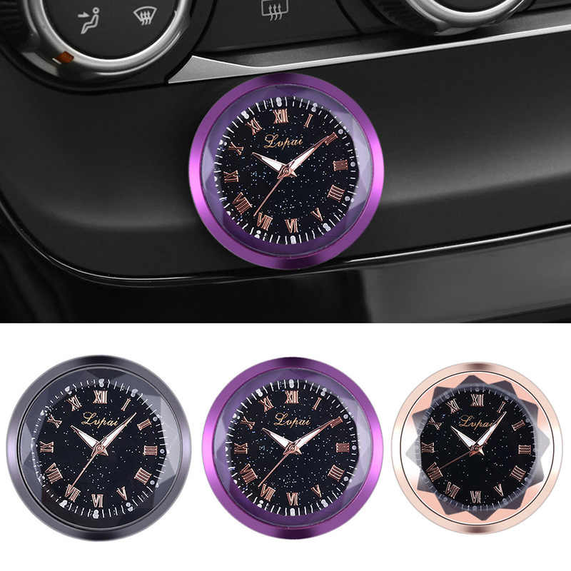 Car Decoration Electronic Meter Car Clock Timepiece Auto Pendent Ornament Automobiles Sticker Watch Car Interior Accessories