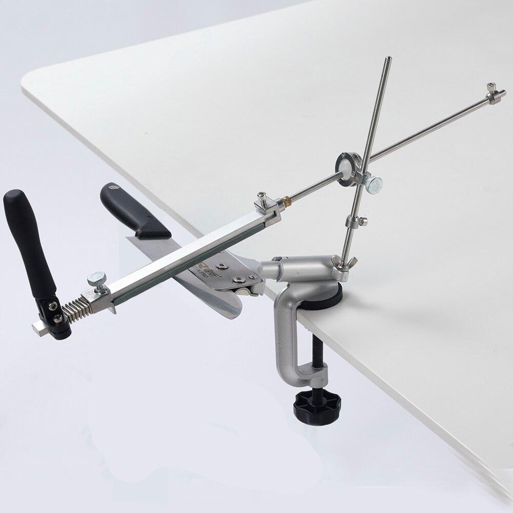 Knife Sharpener System 360 Degree Flip Constant Angle Grinding Tools Grinder Machine Diamond Whetstone KME Knife Sharpener