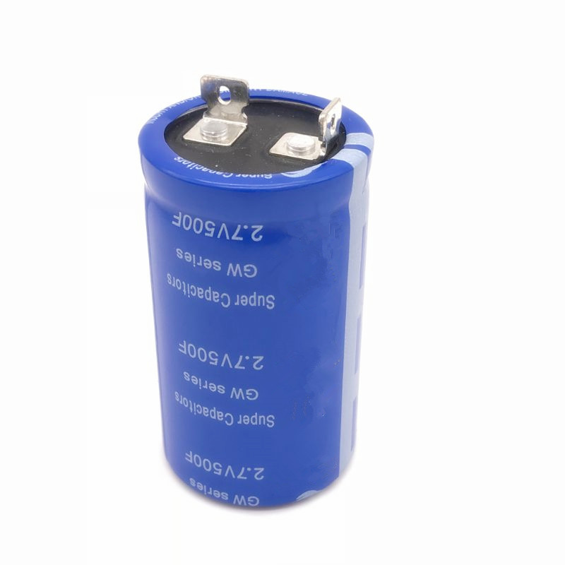 Super Farad Capacitor 2.7V 500F 62*35mm Vehicle Rectifier Low ESR Capacitor Ultracapacitor 62x35mm 62x35 High Frequency
