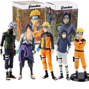 Image 1 - Anime Naruto rakamlar Uzumaki Naruto Uchiha Sasuke Hatake Kakashi Grandista koleksiyon Model oyuncaklar